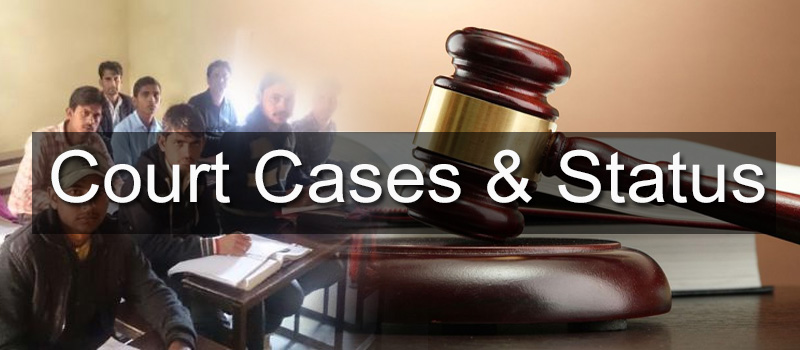 Court Cases and Status
